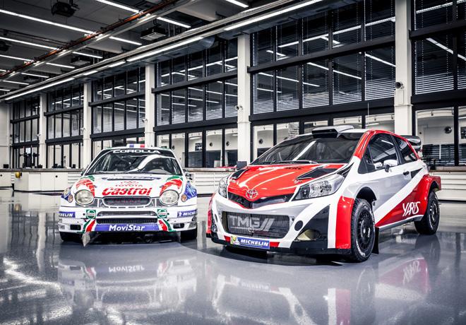 Toyota regresa al WRC en 2017 con el Yaris