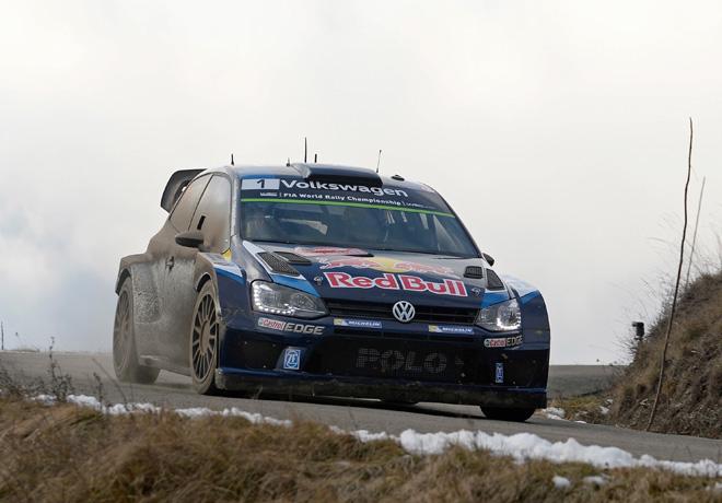WRC - Monaco 2015 - Dia 2 - Sebastien Ogier - Volkswagen Polo R WRC