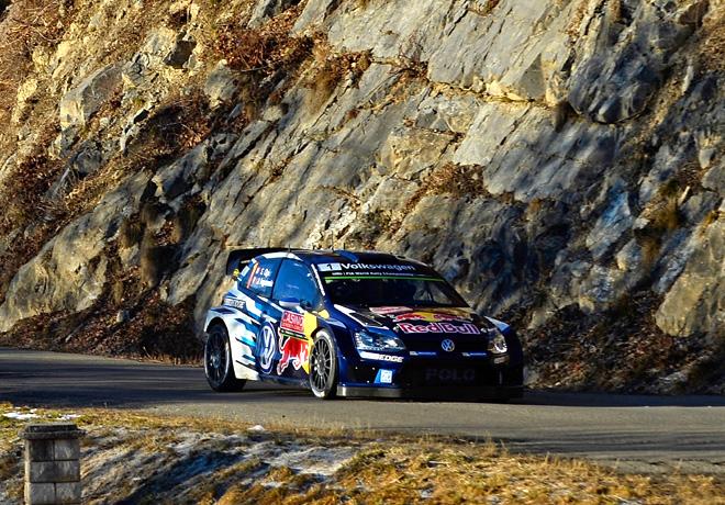 WRC - Monaco 2015 - Dia 3 - Sebastien Ogier - Volkswagen Polo R WRC