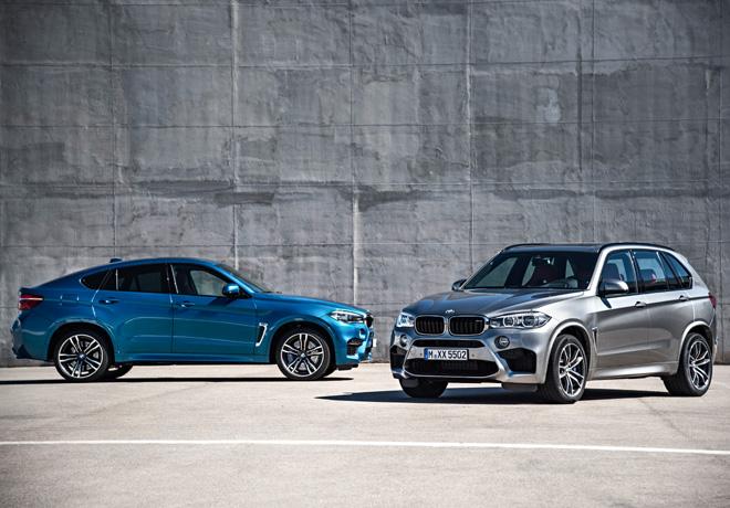 BMW X6 M y X5 M