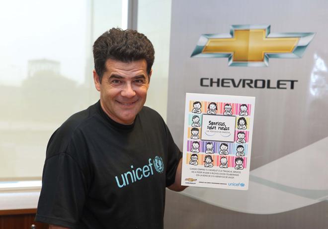 Chevrolet y UNICEF  - Sonrisas sobre Ruedas - un porvenir en marcha