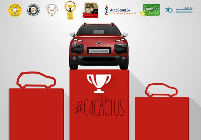 Citroen C4 Cactus - Premios
