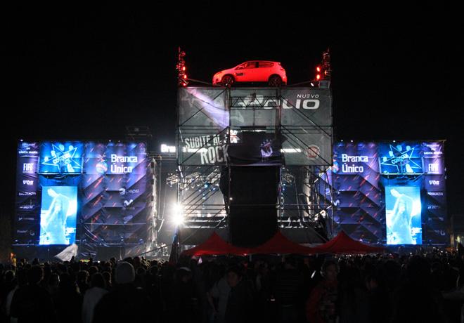 Fiat es el Auto Oficial del Cosquin Rock 2015