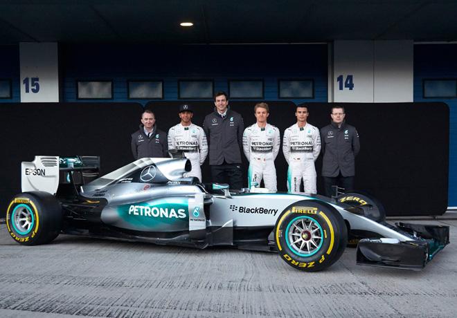 Formula 1 - Mercedes W06 Hybrid 1