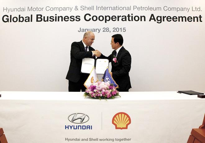 Hyundai renueva su alianza con los lubricantes Shell