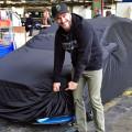 Ken Block hizo una demostracion en la presentación del nuevo Nuevo Ford Focus RS