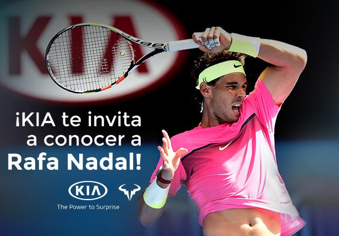 Kia te invita a conocer a Rafael Nadal 1