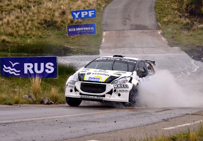 Rally Argentino - San Luis 2015 - Dia 1 - Miguel Baldoni - Peugeot 208 MR