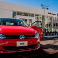 Stand de Volkswagen en Villa Carlos Paz