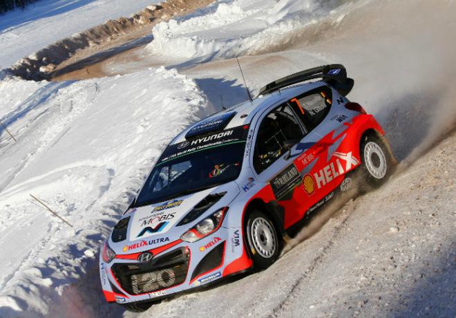 WRC - Suecia 2015 - Dia 3 - Thierry Neuville - Hyundai i20