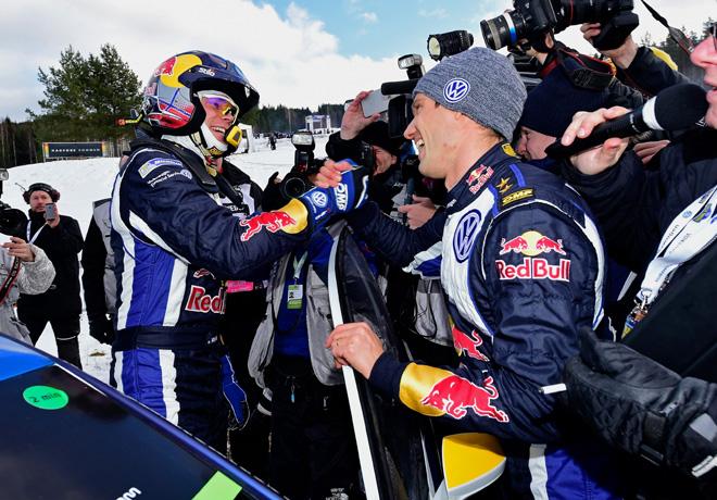 WRC - Suecia 2015 - Final - Sebastien Ogier y Andreas Mikkelsen - VW Polo R
