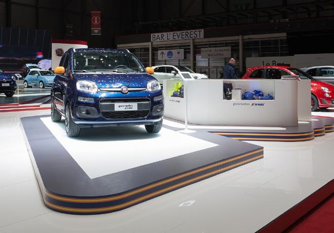 Fiat - Salon de Ginebra 2015 - Panda K-Way