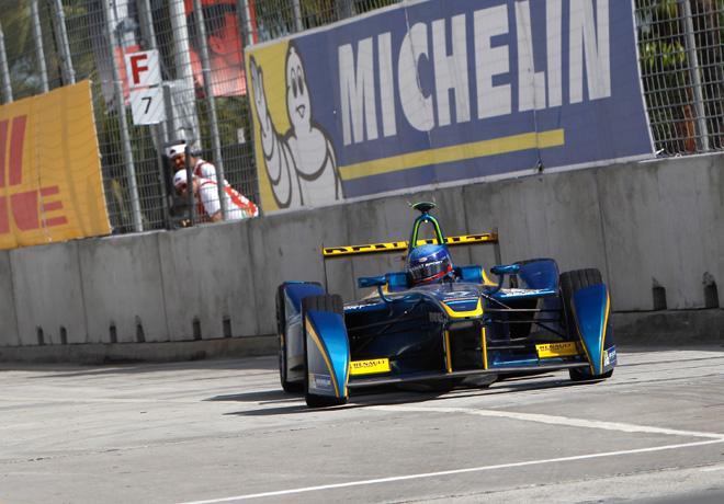 Formula E - Miami - Estados Unidos 2015 - Nicolas Prost - eDams-Renault