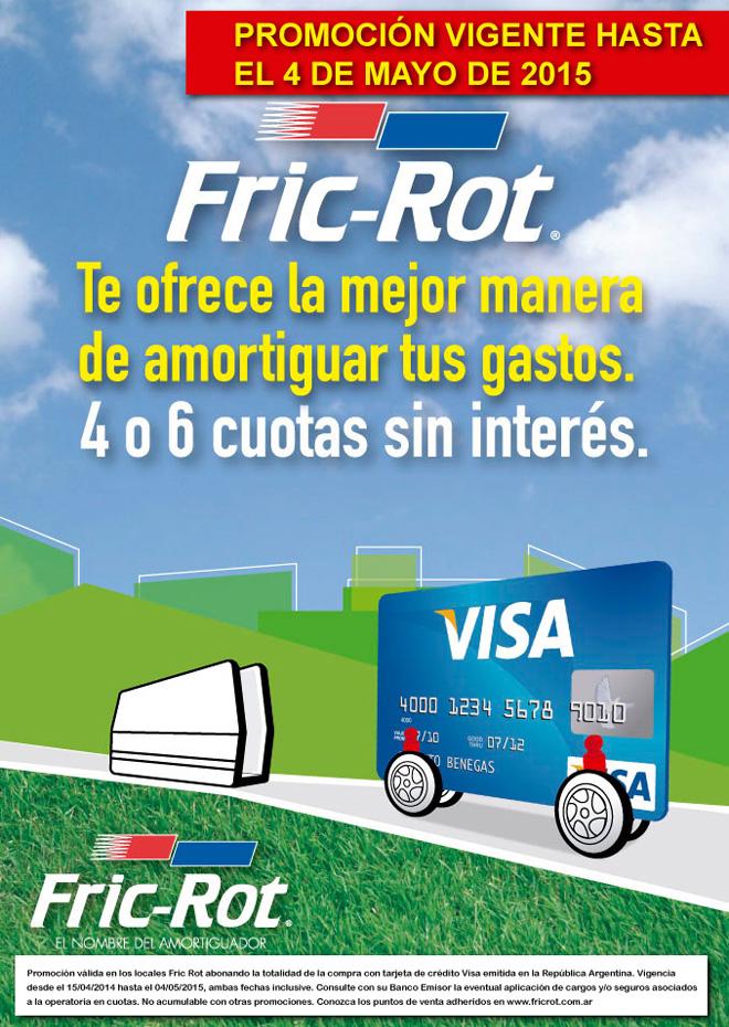 Fric-Rot extiende la promoción con Visa hasta mayo