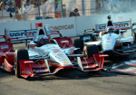 IndyCar - St Petersburg 2015 - Juan Pablo Montoya y Will Power