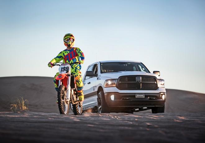 La pick up Ram es vehiculo oficial del Mundial de Motocross - MX GP Patagonia 2015