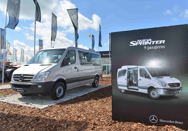 Mercedes-Benz - ExpoAgro 2015 - Sprinter 9 pasajeros 1