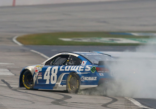 NASCAR - Atlanta - Jimmie Johnson - Chevrolet SS