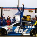 NASCAR - Atlanta - Jimmie Johnson en el Victory Lane