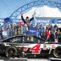 NASCAR - Las Vegas 2015 - Kevin Harvick en el Victory Lane