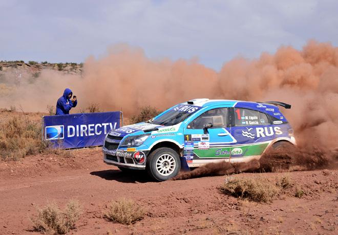 Rally Argentino - Cutral-Co - Neuquen - Etapa 1 - Marcos Ligato - Chevrolet Agile Maxi Rally