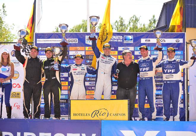 Rally Argentino - Cutral-Co - Neuquen - Final - El Podio