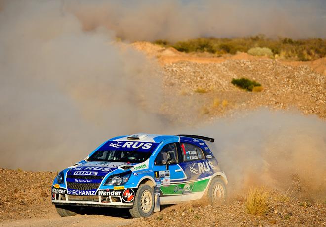 Rally Argentino - Cutral-Co - Neuquen - Final - Marcos Ligato - Chevrolet Agile Maxi Rally