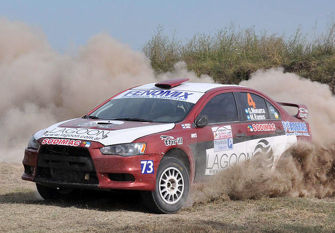 Rally Federal - Navarro - Final - Gonzalo Monarca - Mitsubishi Lancer EVO