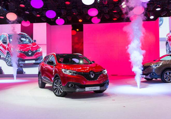 Renault - Salon de Ginebra 2015 - Kadjar 1