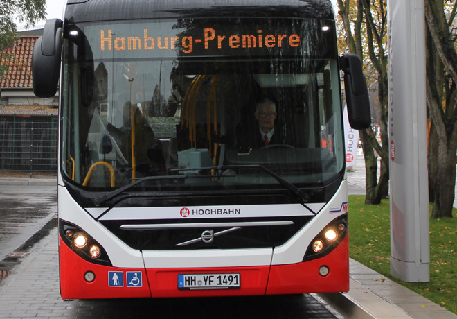 Siemens proveerá el sistema de carga de la nueva línea de autobuses híbridos eléctricos de Estocolmo.