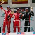 TCR - Sepang - Malasia 2015 - Carrera 2 - El Podio