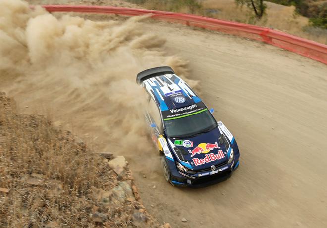 WRC - México 2015 - Dia 2 - Sebastien Ogier - Volkswagen Polo R WRC