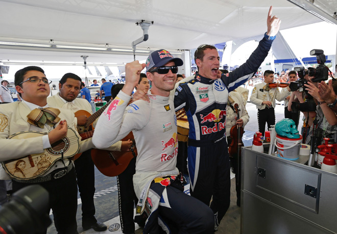 WRC - Mexico 2015 - Final - Sebastien Ogier - Julien Ingrassia