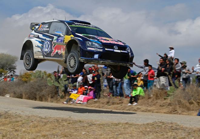 WRC - Mexico 2015 - Final - Sebastien Ogier - Volkswagen Polo R WRC