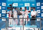 WTCC - Termas de Rio Hondo 2015 - Carrera 2 - El Podio