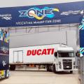 Camiones Vokswagen en el MotoGP de Argentina