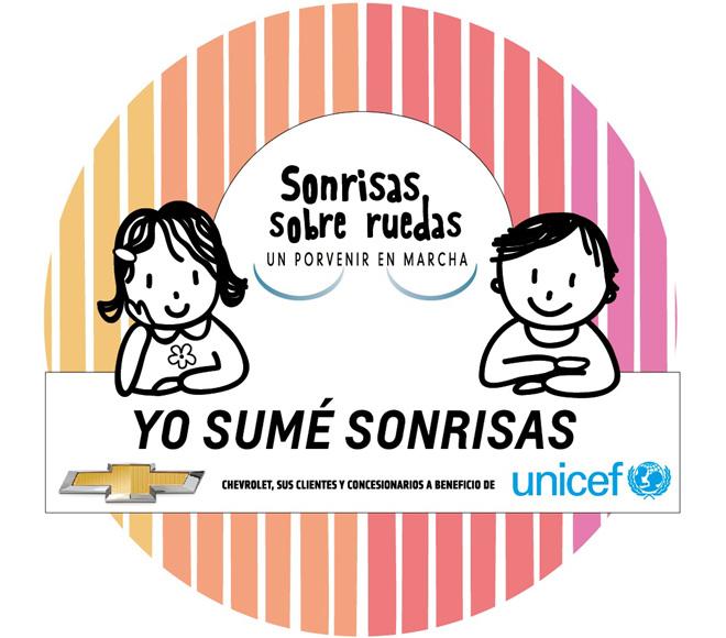 Chevrolet - Programa Sonrisas sobre Ruedas - Unicef