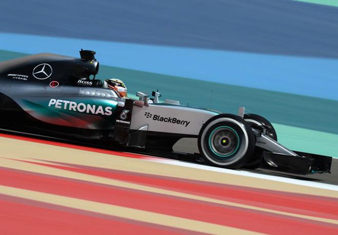 F1 - Bahrein 2015 - Clasificacion - Lewis Hamilton - Mercedes GP