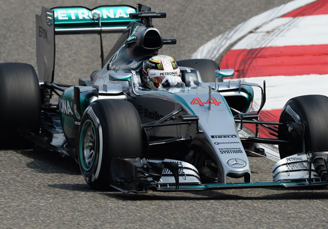 F1 - China 2015 - Lewis Hamilton - Mercedes GP