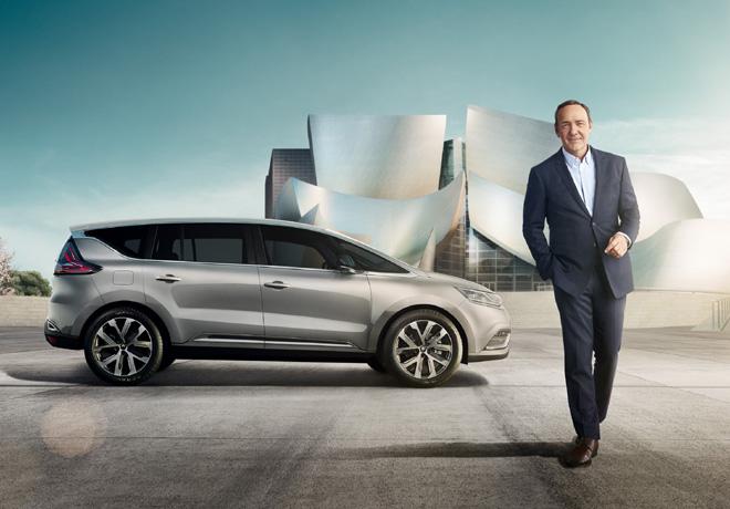 Kevin Spacey Renault Espace