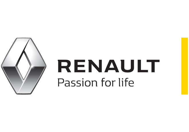 Logo Renault - Passion for life