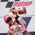 MotoGP - Austin 2015 - Marc Marquez en el Podio