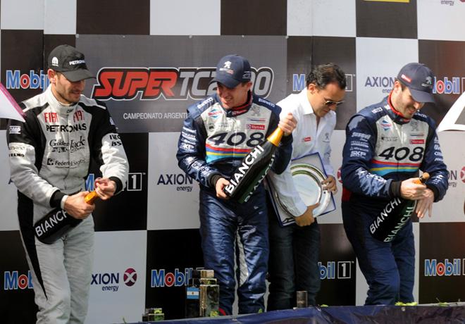 STC2000 - Rosario 2015 - Ardusso - Girolami - Canapino en el podio
