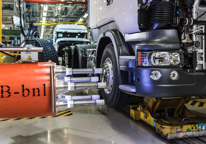 Scania - Innovacion - Planta