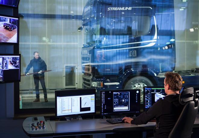Scania - Innovacion - Tunel de Viento