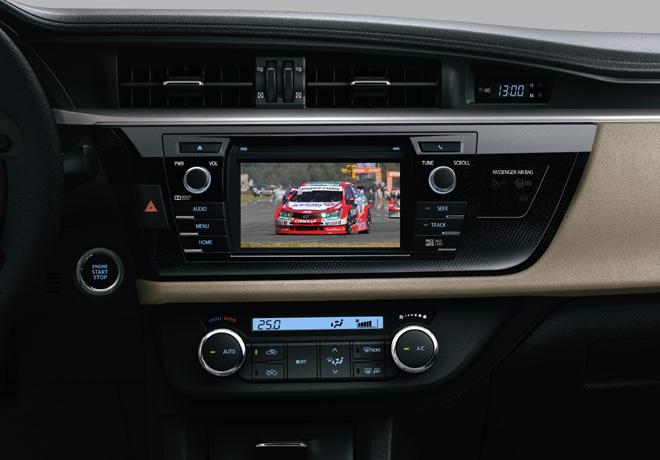 Toyota Corolla - equipamiento