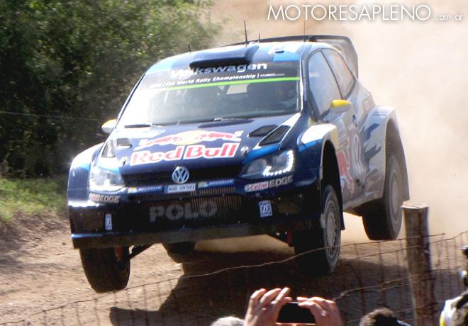 VW en el Rally Argentina 2015 2