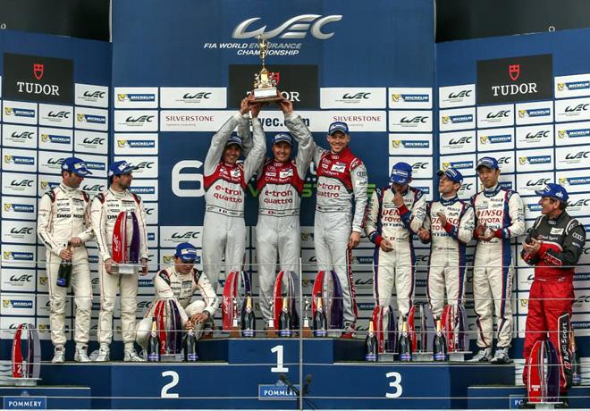 WEC - Silverstone 2015 - El Podio