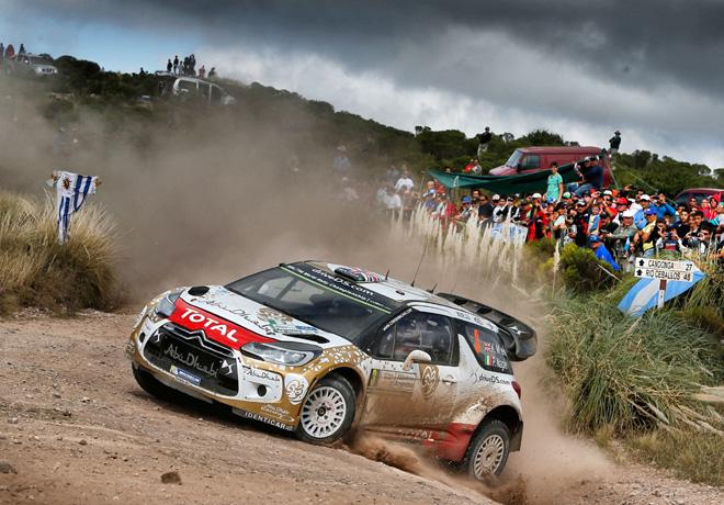 WRC - Argentina 2015 - Dia 2 - Kris Meeke - Citroen DS3 WRC