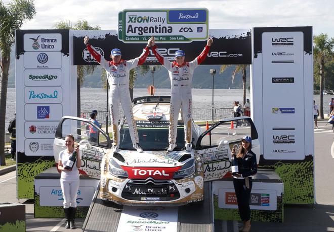WRC - Argentina 2015 - Final - Kris Meeke en el Podio